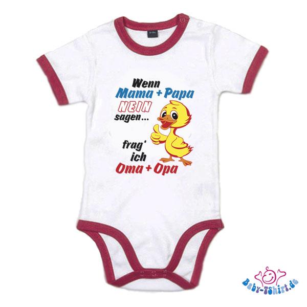 Witziger T Shirt Spruch Wenn Mama Und Papa Nein Sagen Frag